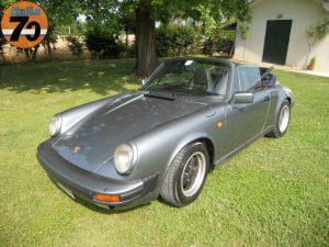 PORSCHE 911 CARRERA CABRIOLET 1984