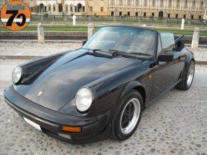 PORSCHE 911 CARRERA CABRIOLET 1986